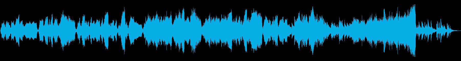 切ない映像に良く合う弦とピアノの作品の再生済みの波形