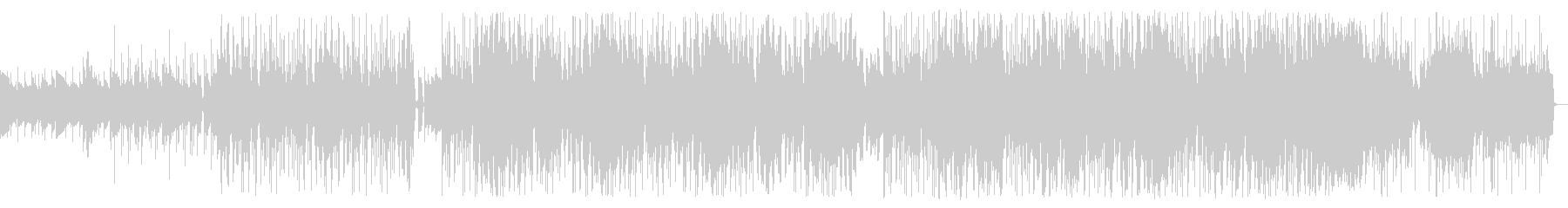 シックで大人なミステリアスジャズの未再生の波形