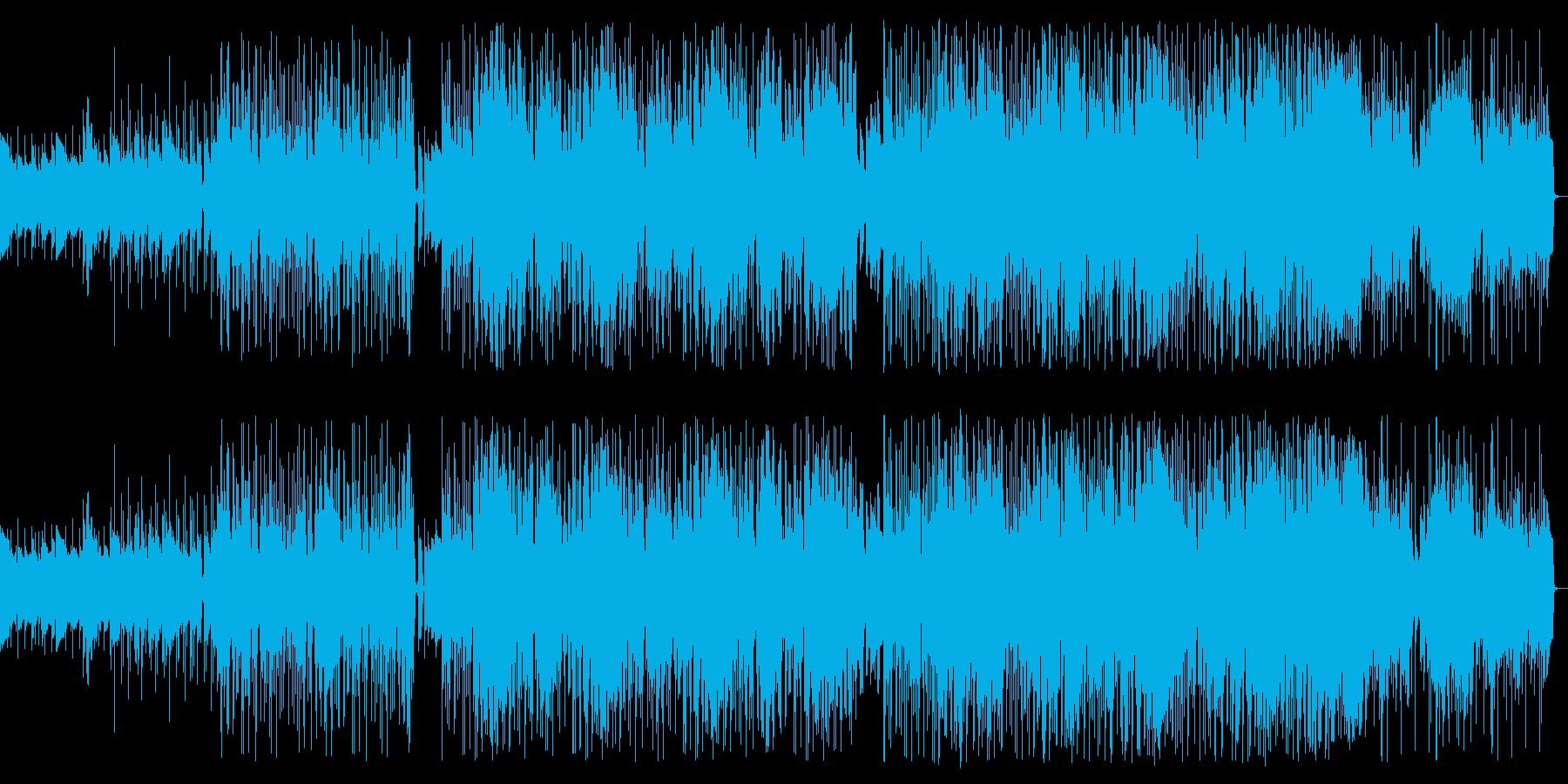 シックで大人なミステリアスジャズの再生済みの波形
