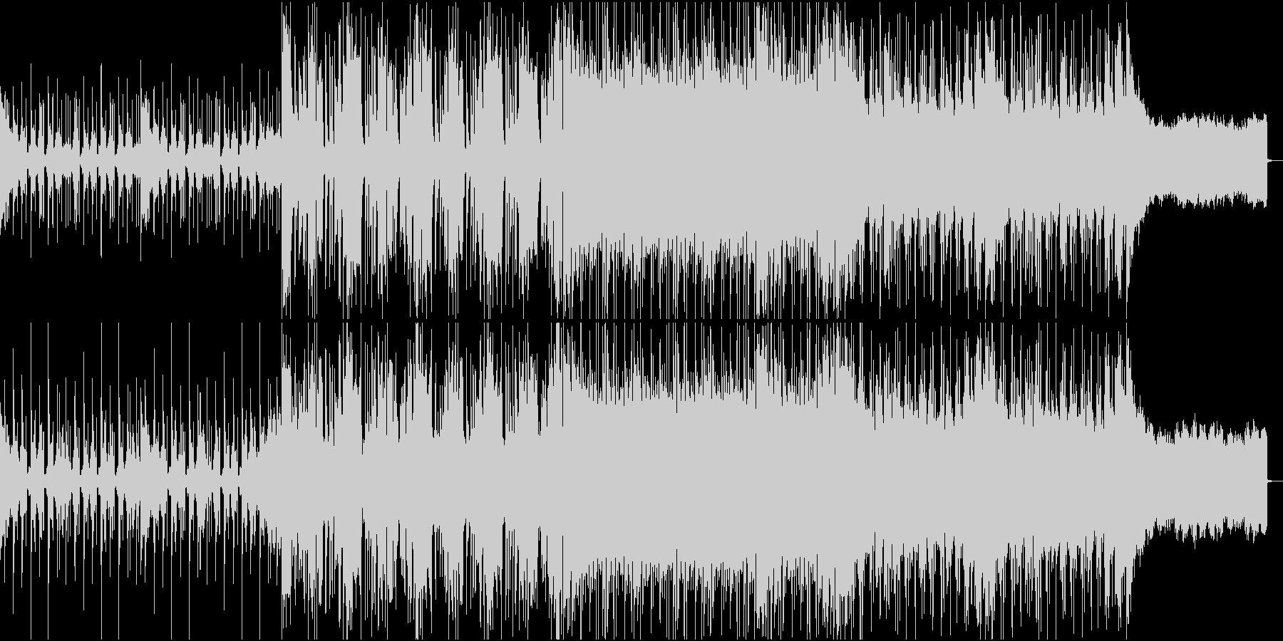 スローテンポで壮大なEDM・サイケの未再生の波形