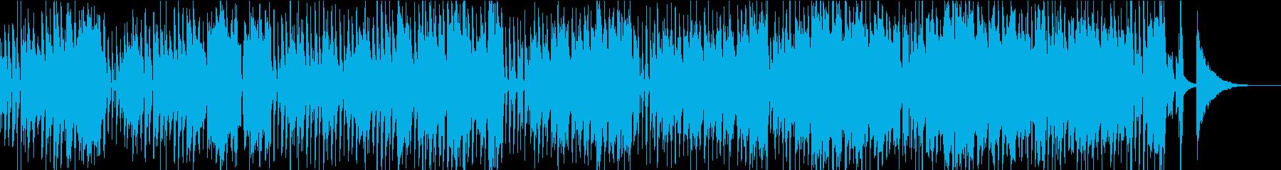 楽しげなアコースティックポップの再生済みの波形
