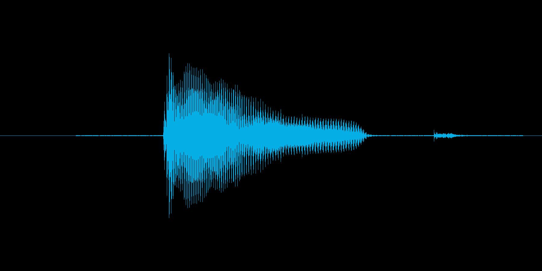 8(えいと)の再生済みの波形