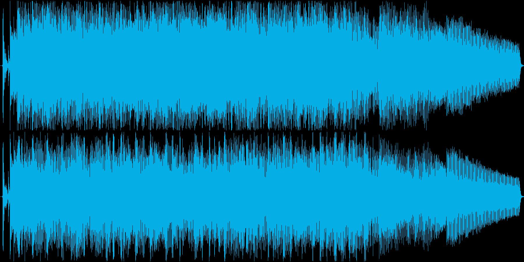 ポップでかわいいジングル の再生済みの波形