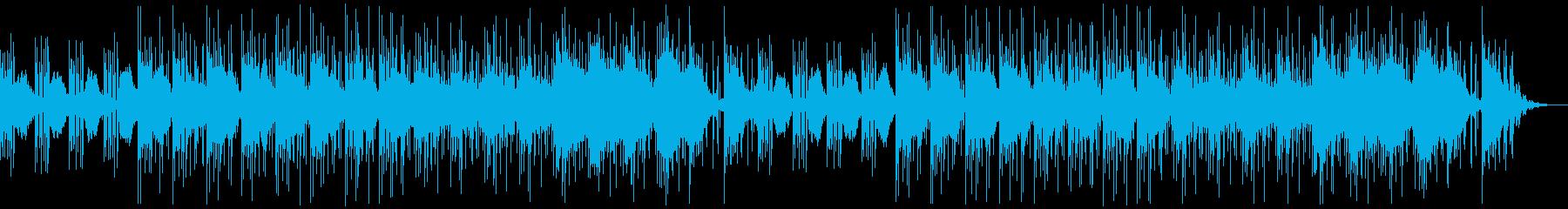 推理や思案、シリアスなシーンのBGMの再生済みの波形