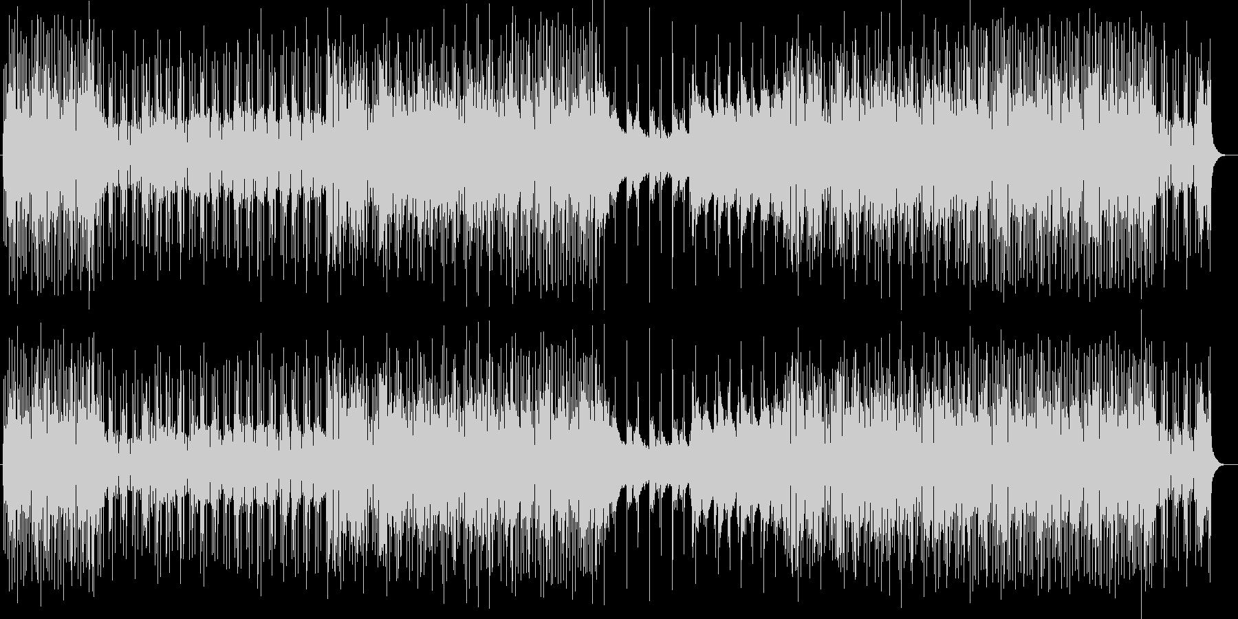 キラキラハッピーなシンセサウンドの未再生の波形