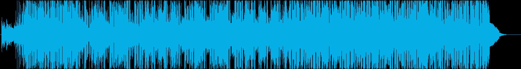 R&B系ミディアムバラードのBGMの再生済みの波形