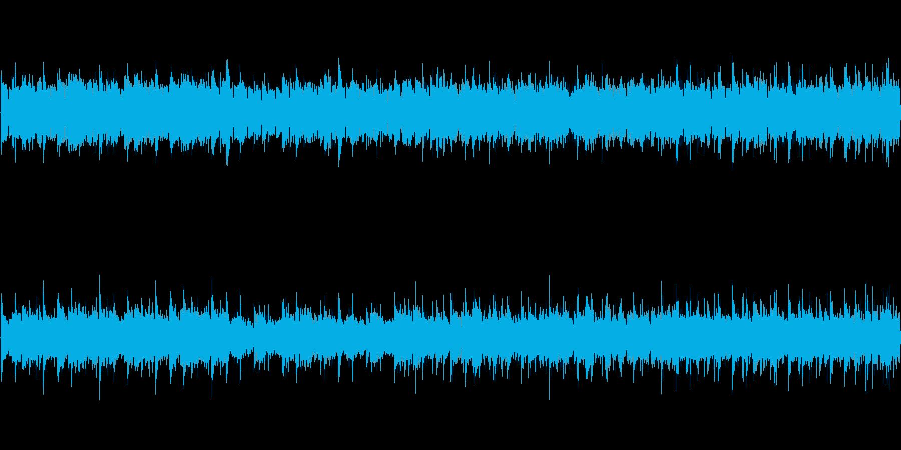 アコースティックギター(明るい感じ)の再生済みの波形