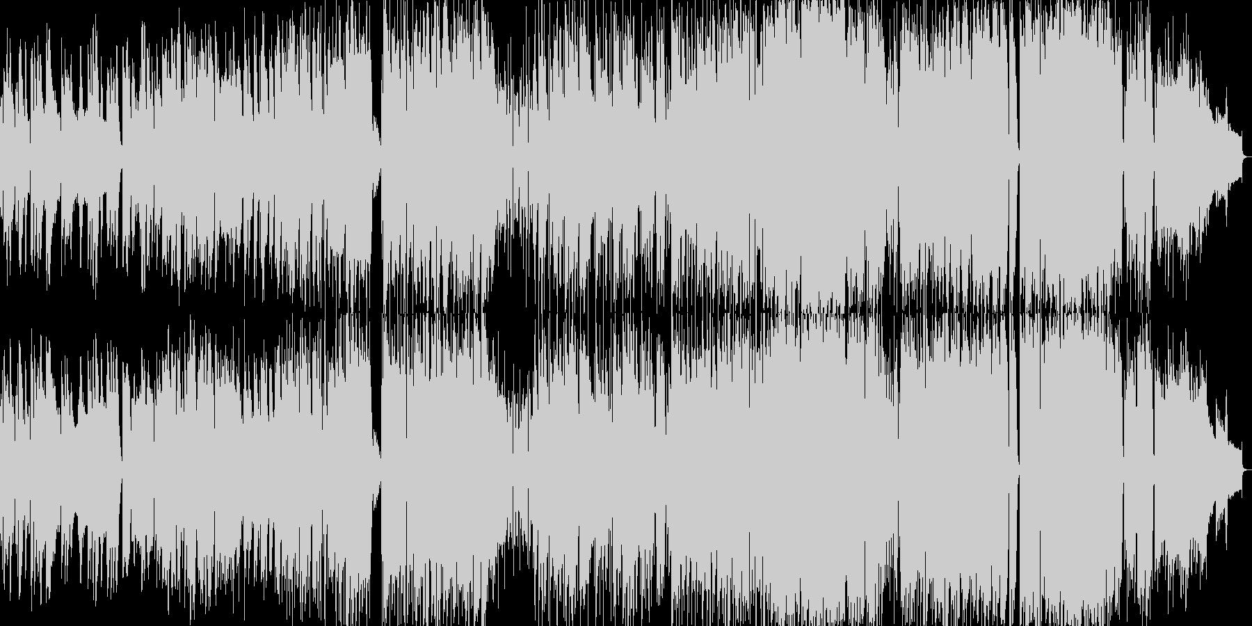 サックス旋律の大人なラウンジミュージックの未再生の波形