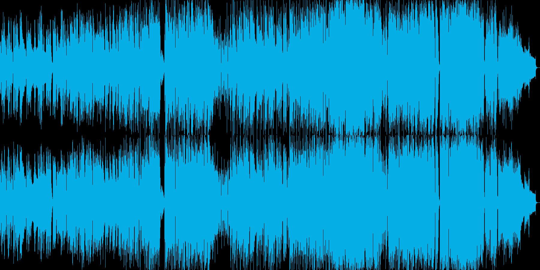 サックス旋律の大人なラウンジミュージックの再生済みの波形