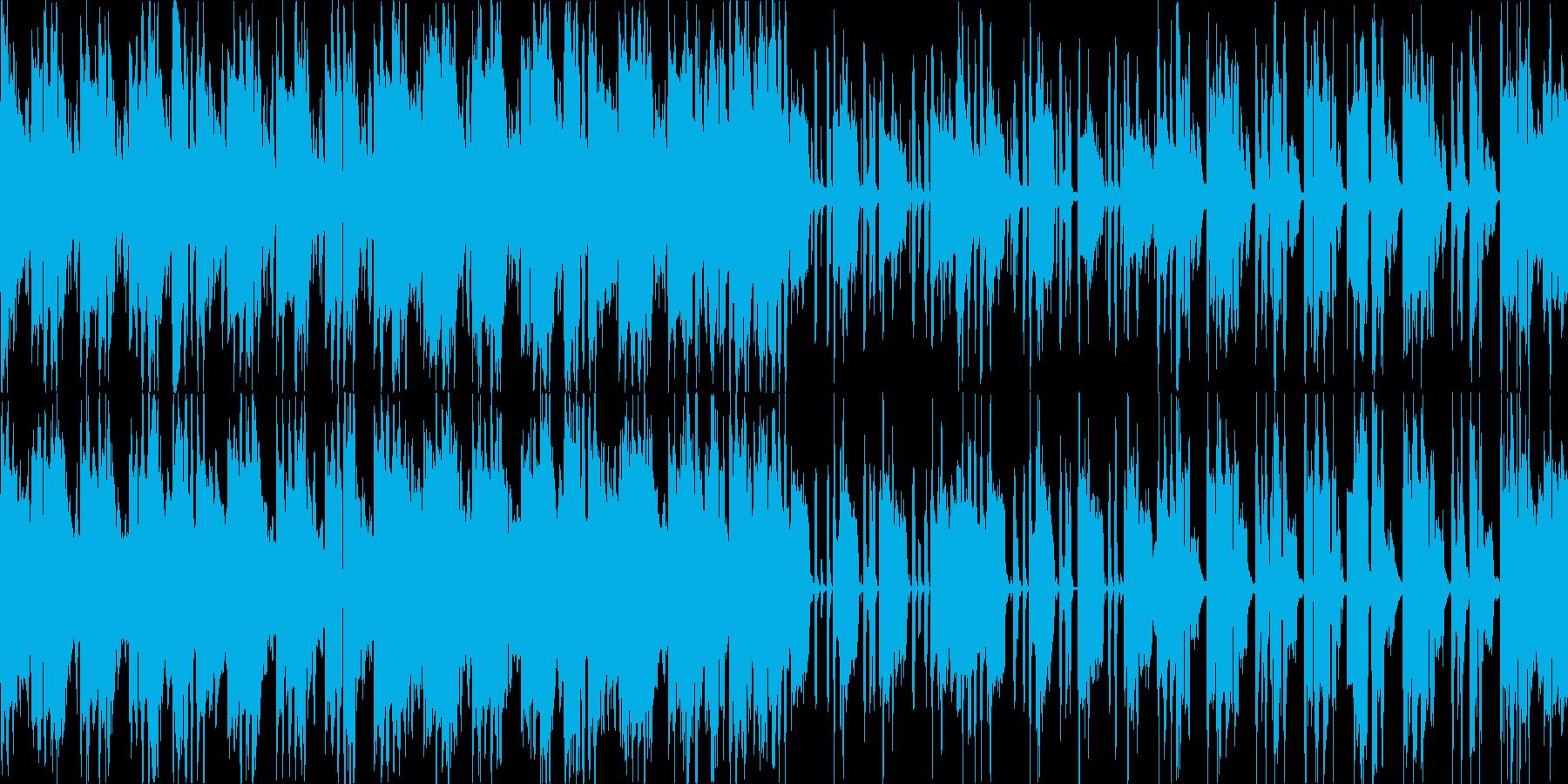 【1分】アコギのアルペジオの切ないBGMの再生済みの波形
