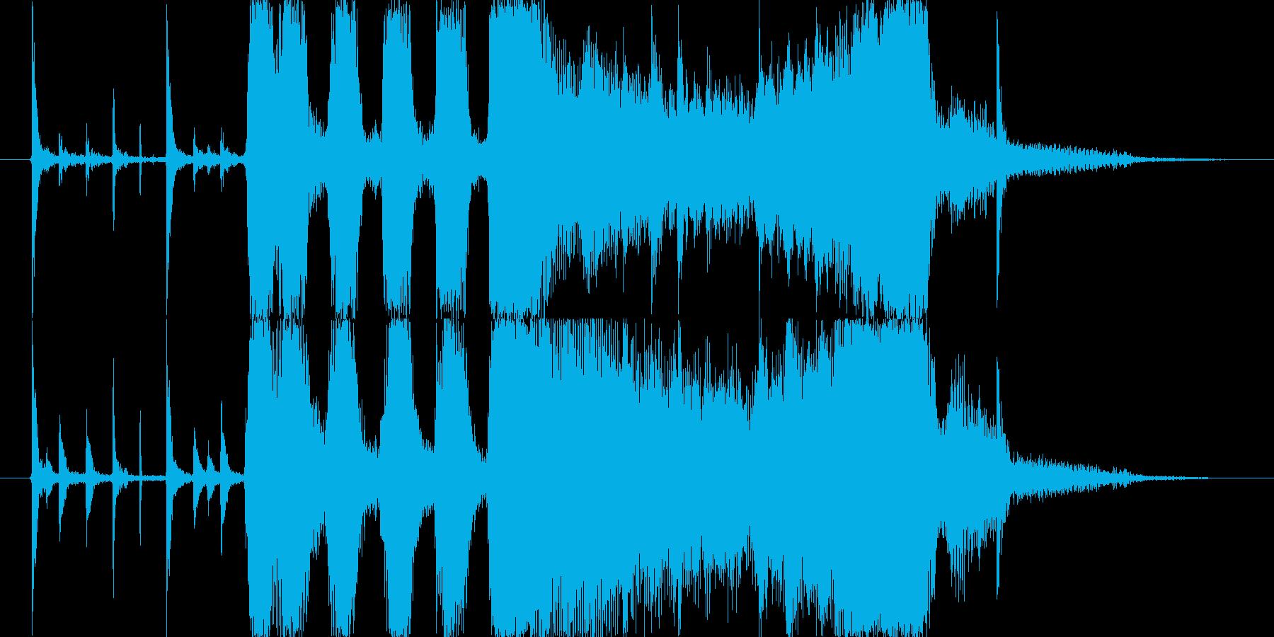 ブラス系ジングルの再生済みの波形