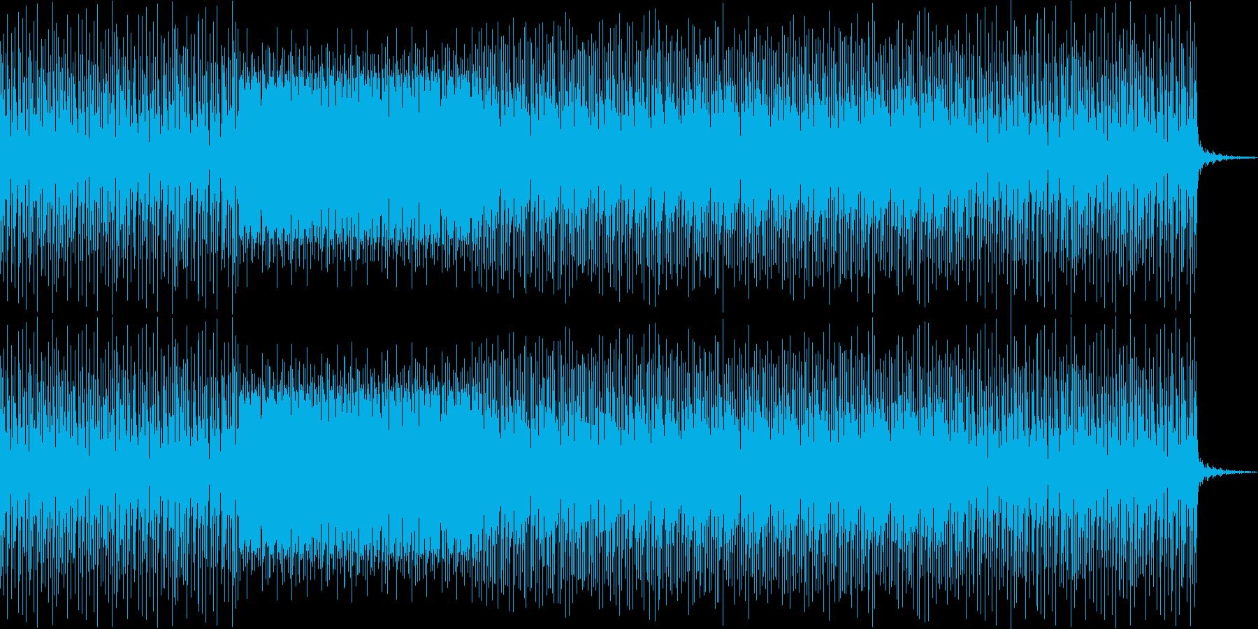ミニマル・テクノ 展開ありの再生済みの波形