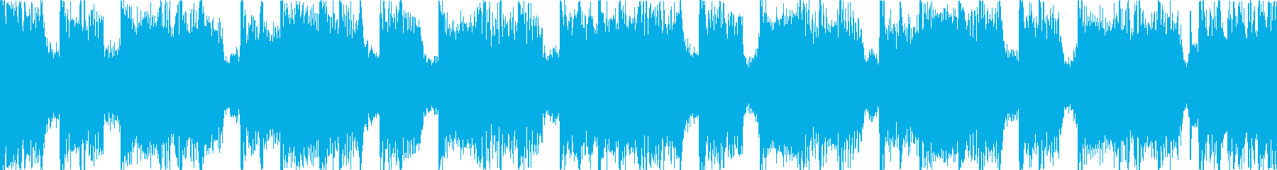 緊迫した重めのロック Cパートループの再生済みの波形