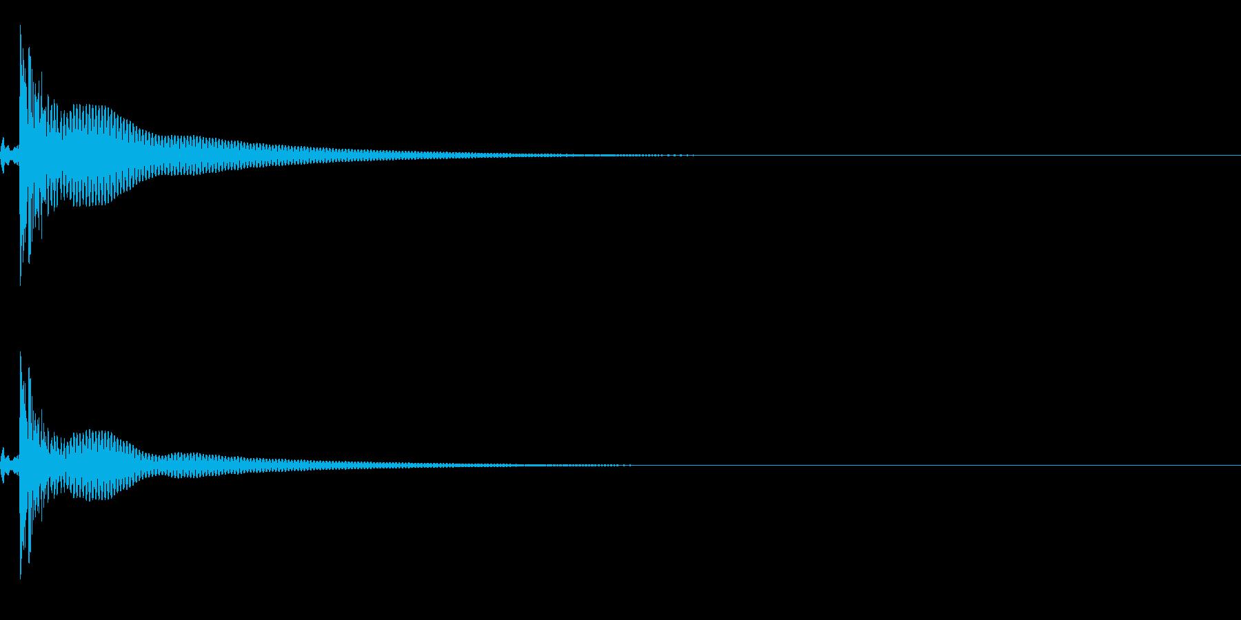 コンガ ボンゴ リフ6 ポコ!の再生済みの波形