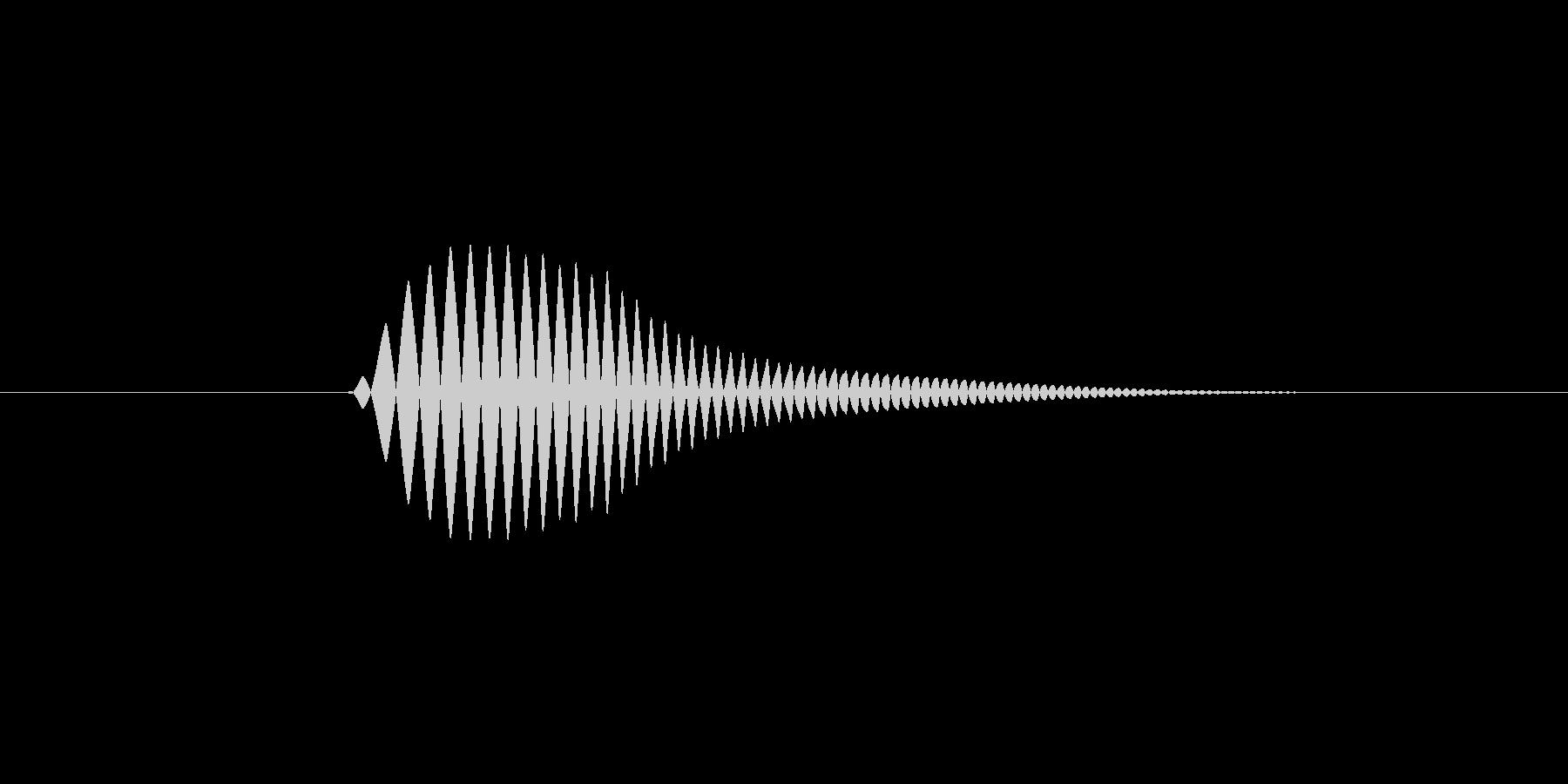 【足音】コミカル 丸みのある非現実系 左の未再生の波形