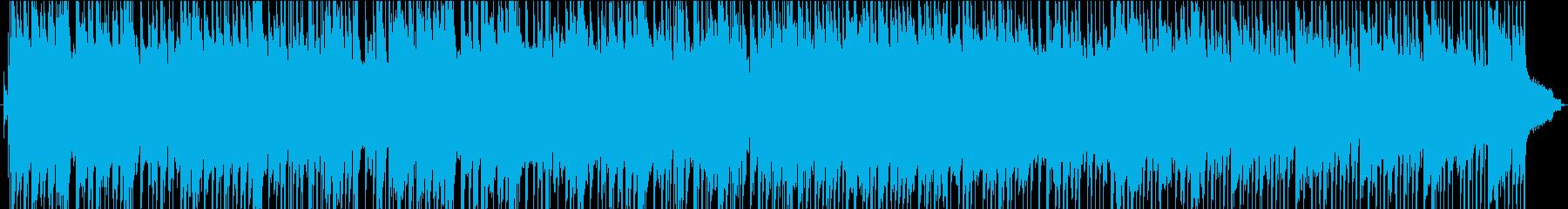 ワクワクするブリティッシュロックの再生済みの波形