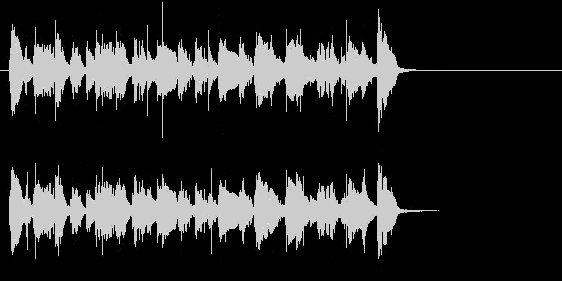 陽気なコーポレート系ポップサウンド♪の未再生の波形