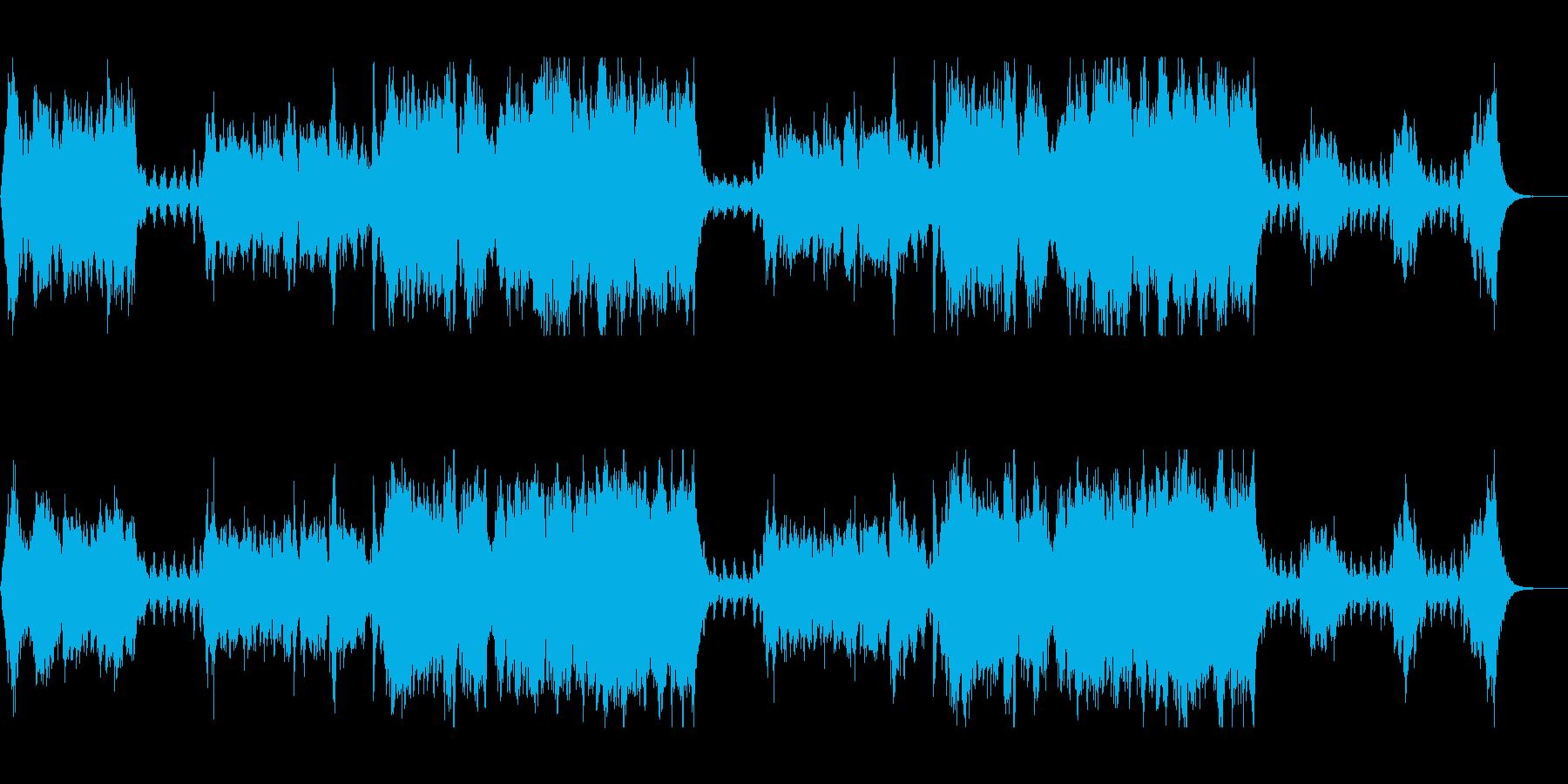 壮大で軽快で優雅なポップSFサウンドの再生済みの波形