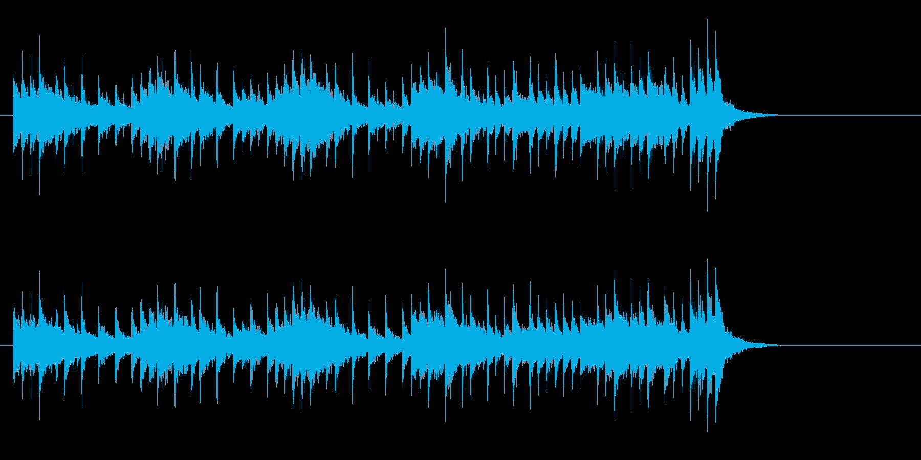 遊戯感覚シーズン・ミュージックの再生済みの波形