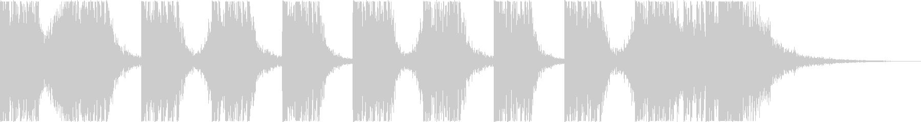 打楽器+シンセ BPM=110の未再生の波形