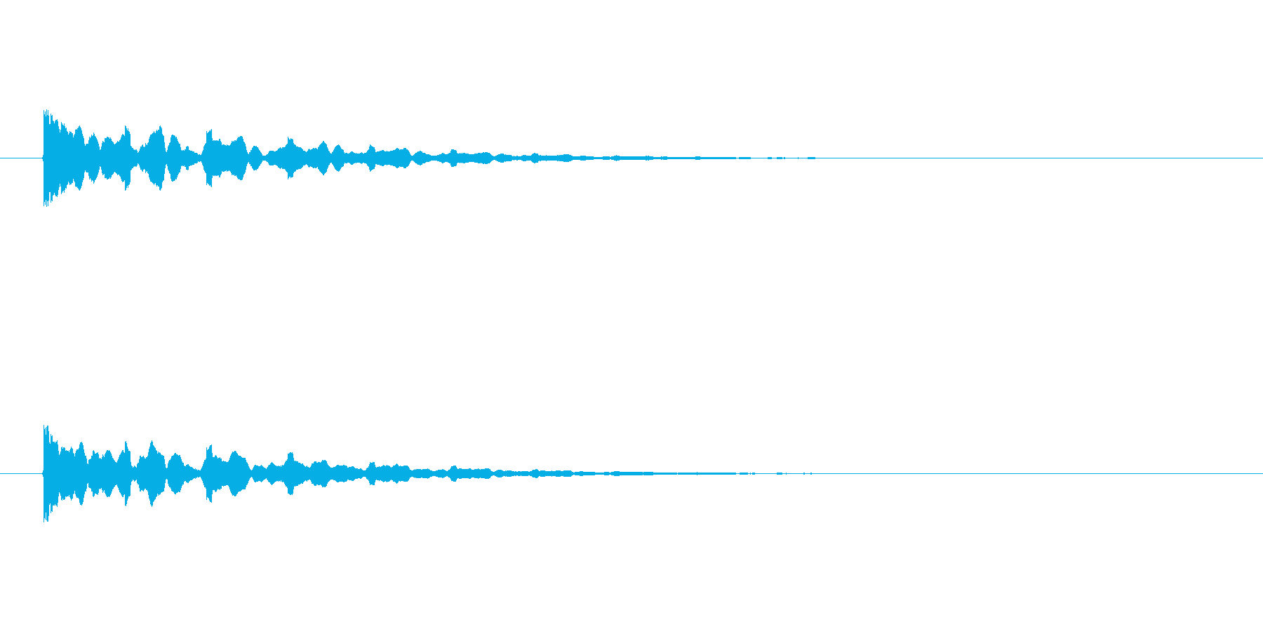 【アクセント28-2】の再生済みの波形
