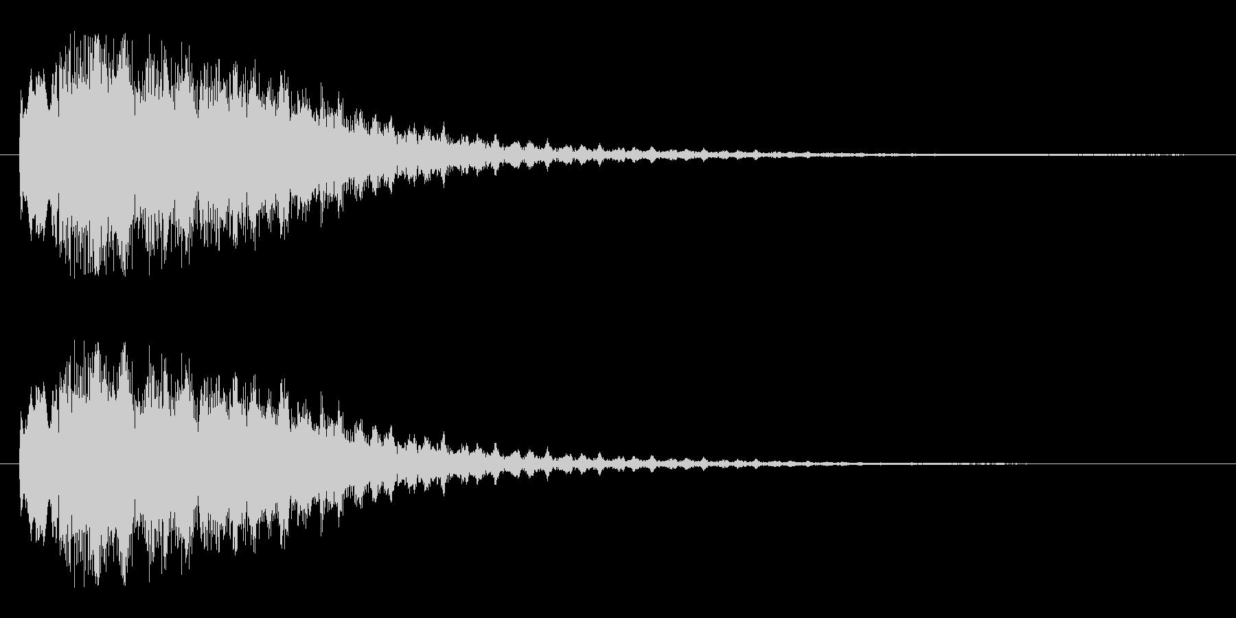 キャラリーン(突然訪れる)の未再生の波形