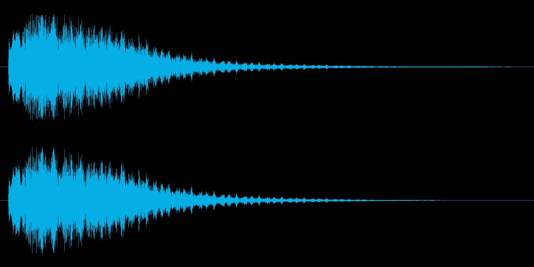 キャラリーン(突然訪れる)の再生済みの波形
