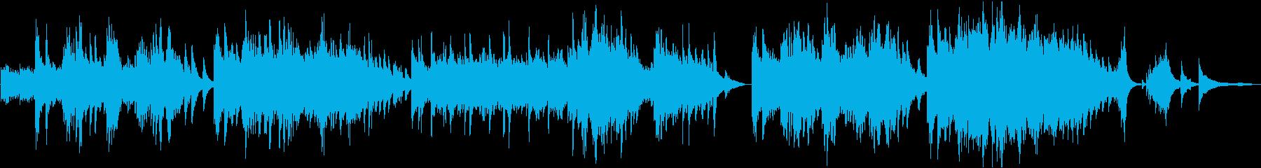 どこか懐かしいピアノ+ストリングスの再生済みの波形