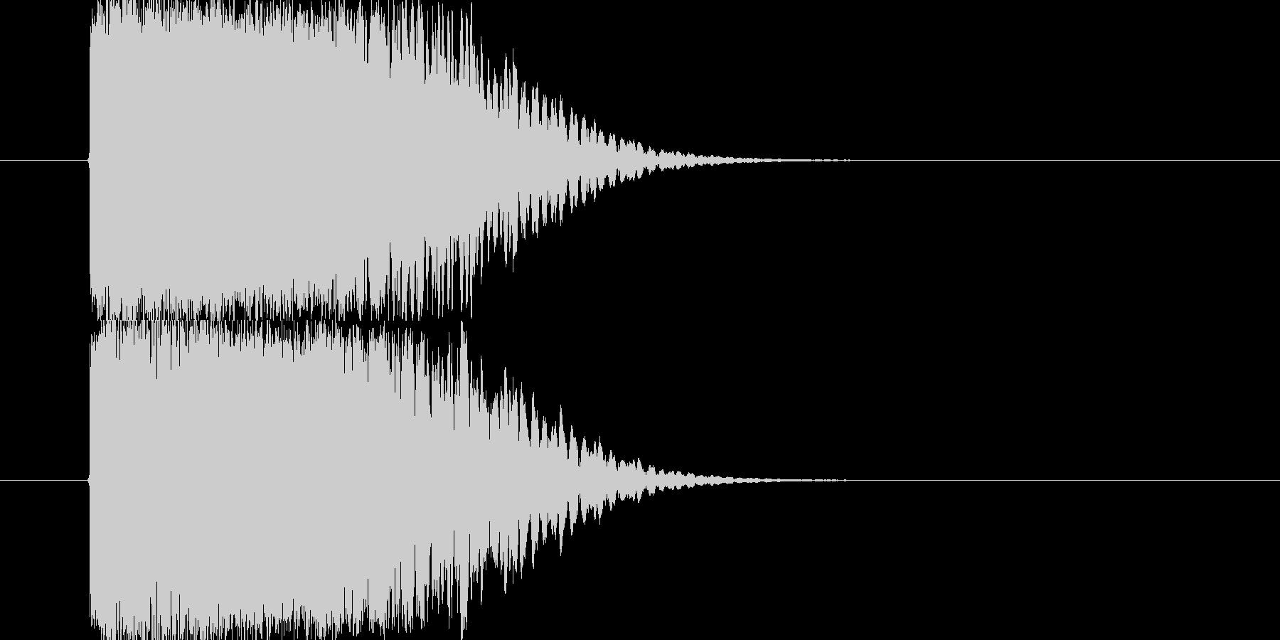 光り系SEです。タイトルバック、重要な…の未再生の波形