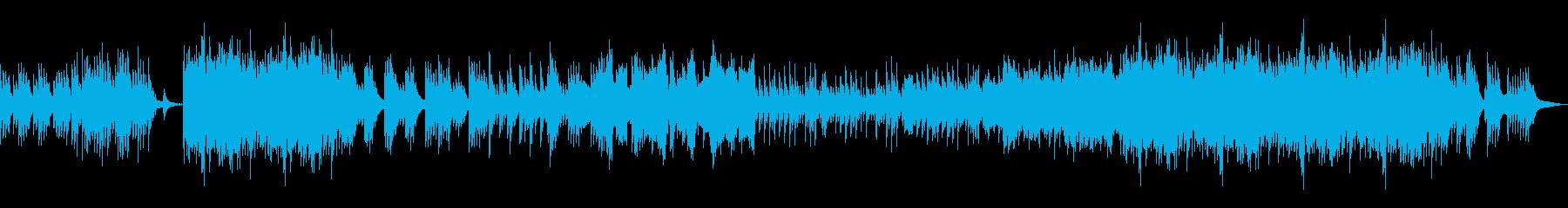 高音質♪和風琴華やかで温かい曲の再生済みの波形