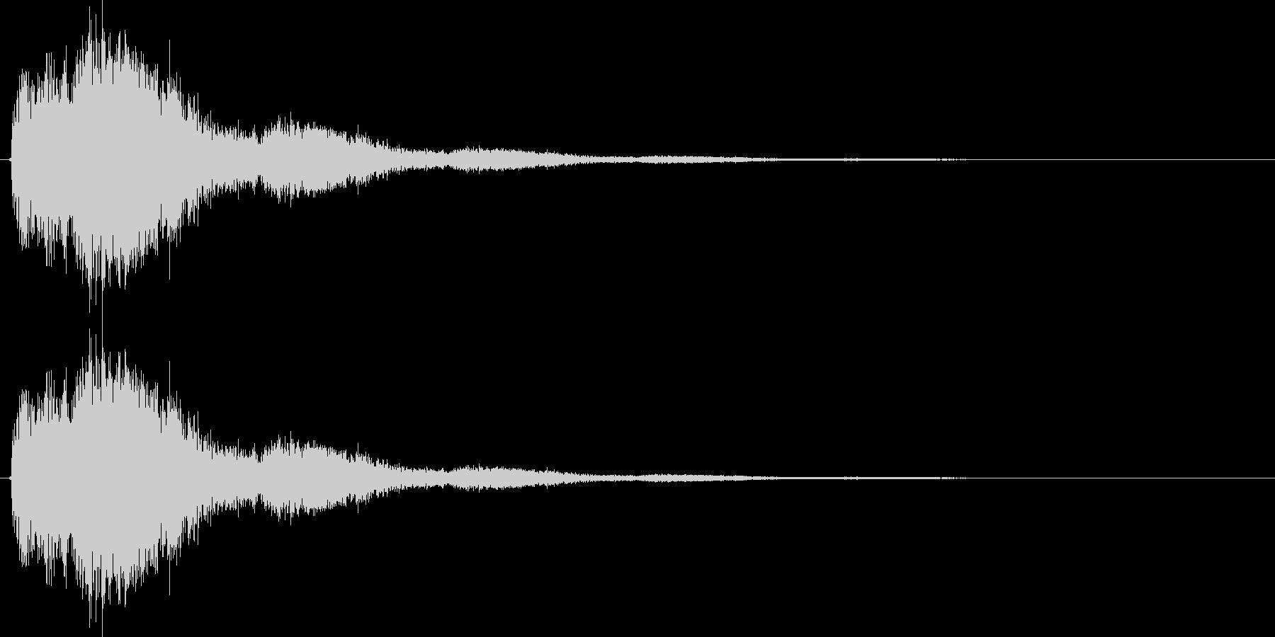 シュワーンの未再生の波形