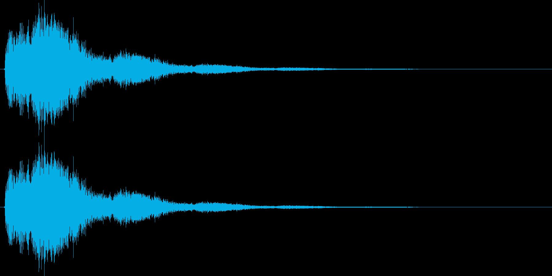 シュワーンの再生済みの波形