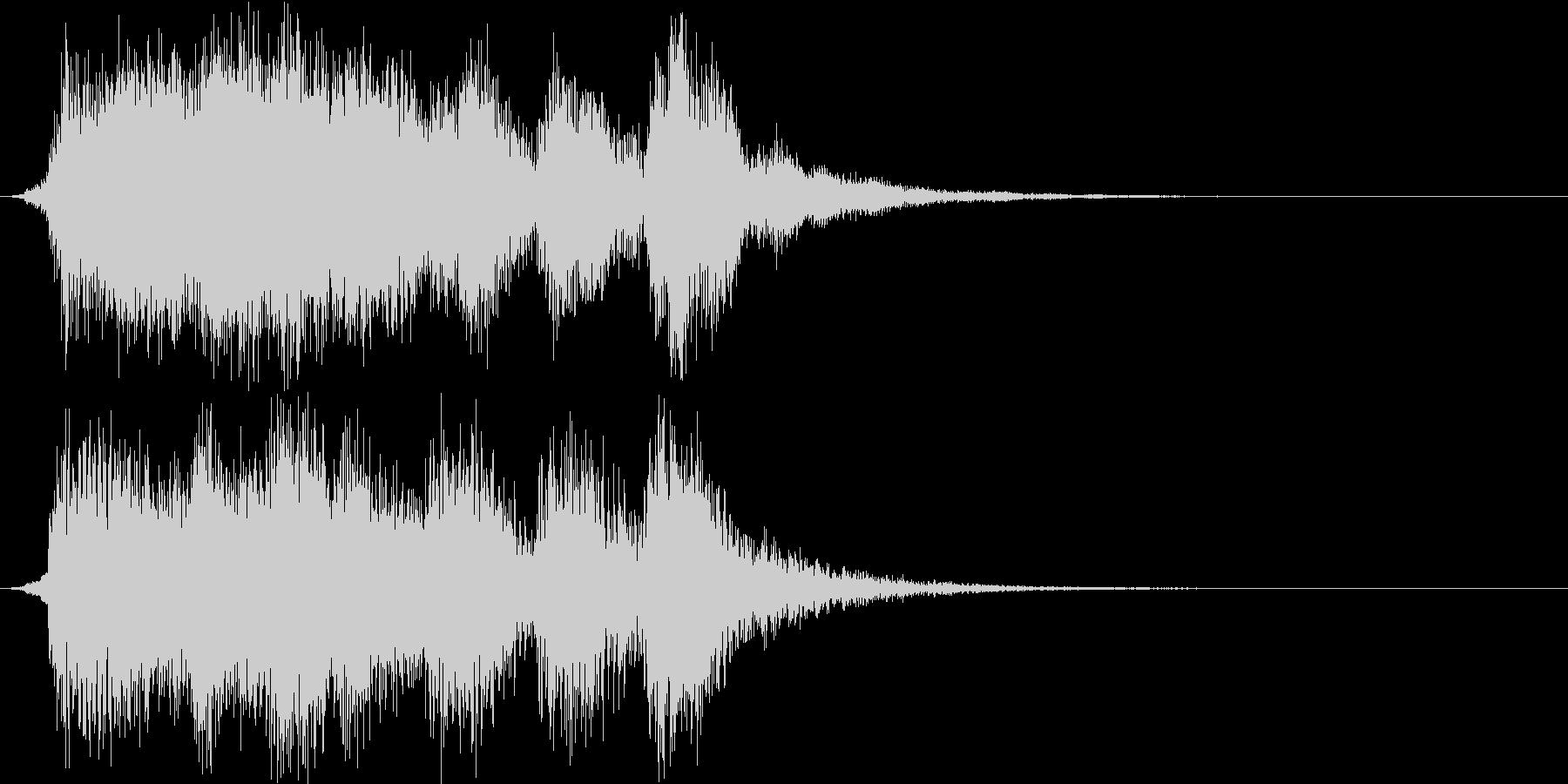 ファンタジー・クリア・ファンファーレ+2の未再生の波形