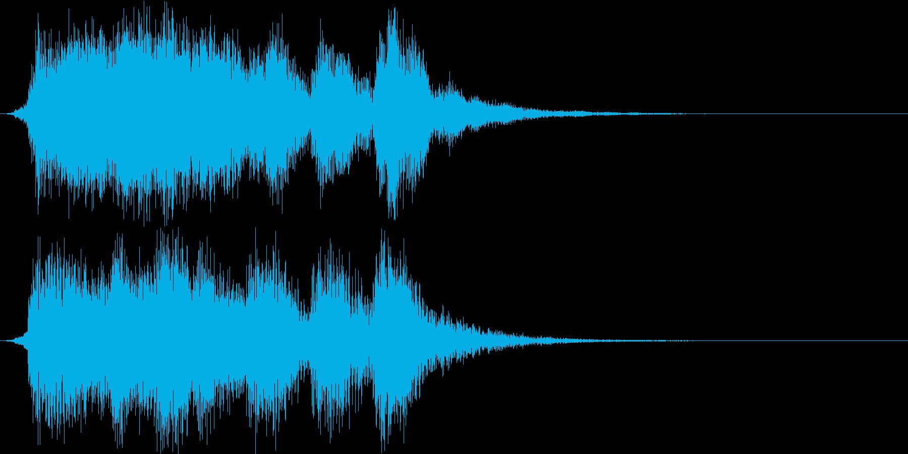 ファンタジー・クリア・ファンファーレ+2の再生済みの波形