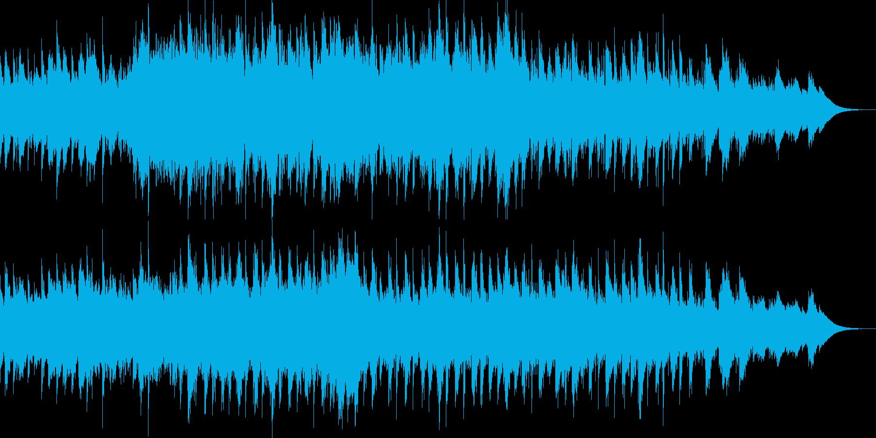アジアンで前衛的な雰囲気のサウンドの再生済みの波形