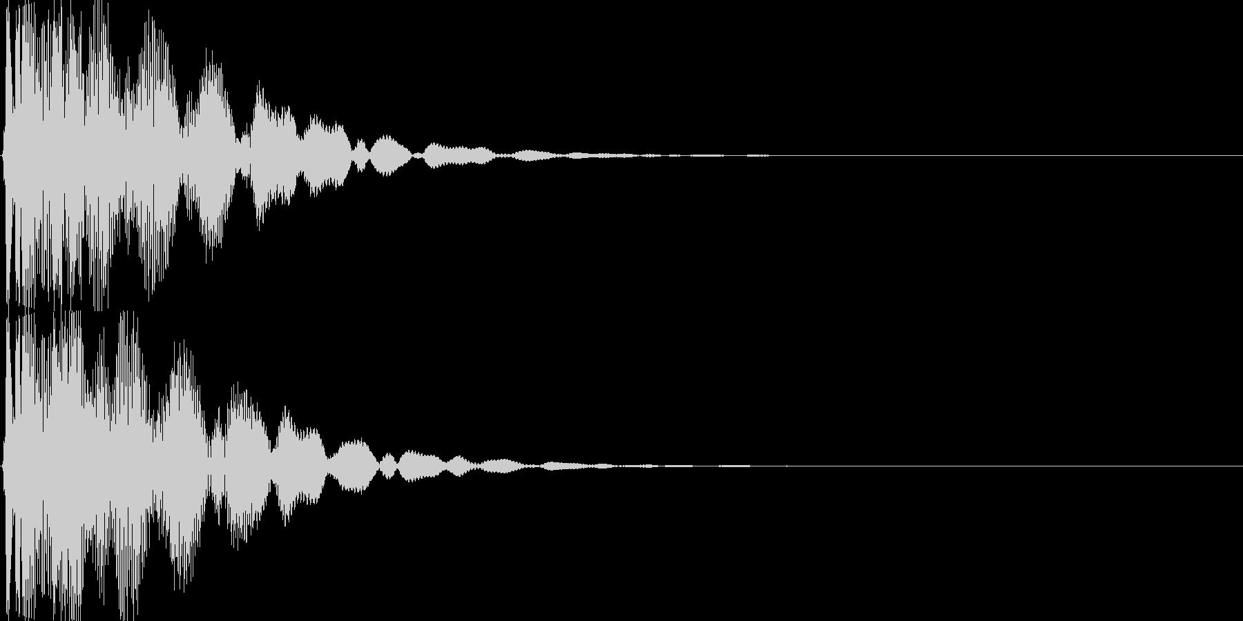 ゲーム(アイテム入手、決定音)などの未再生の波形