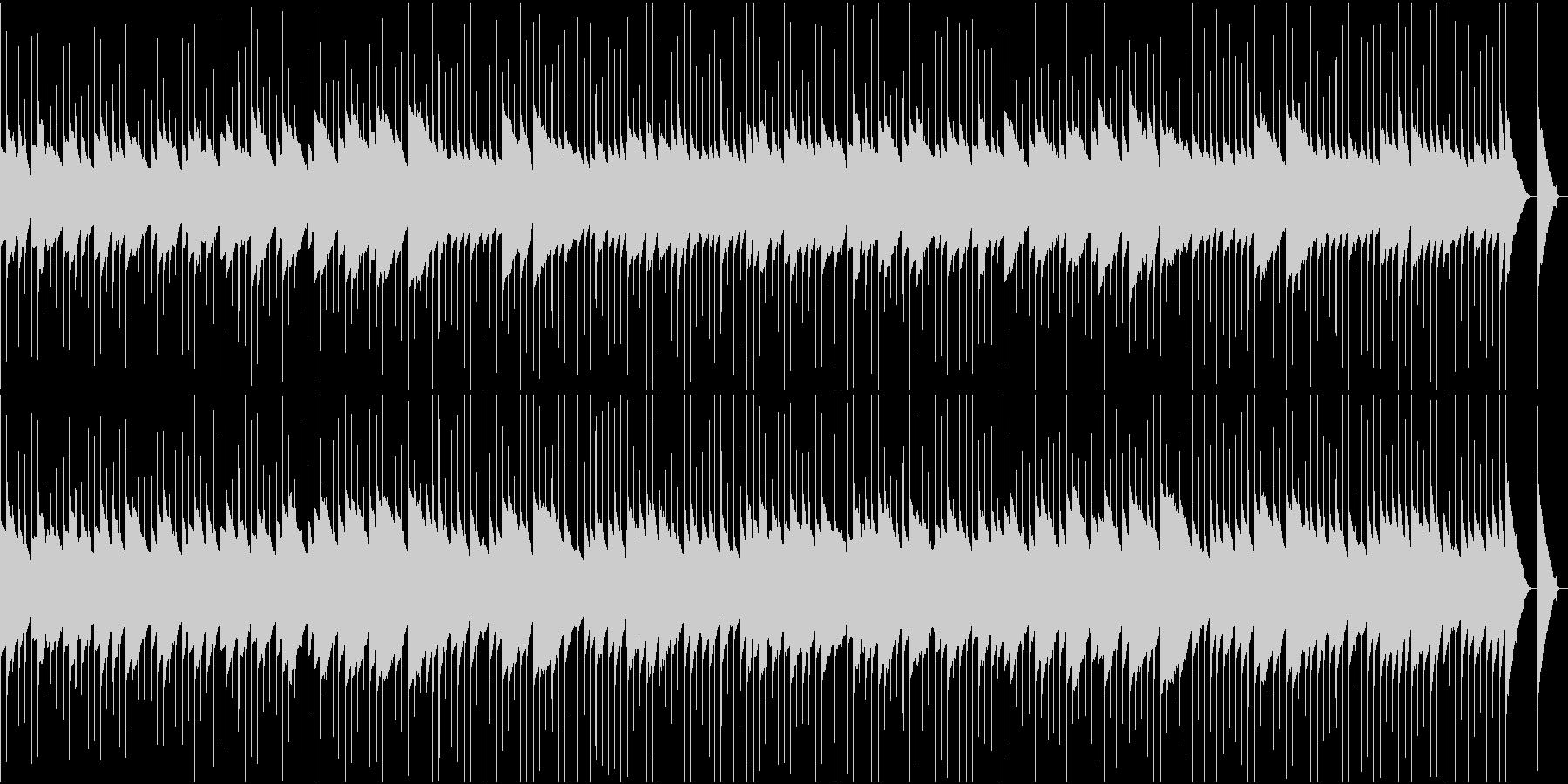 ノスタルジックで何かの始まりな感じの未再生の波形