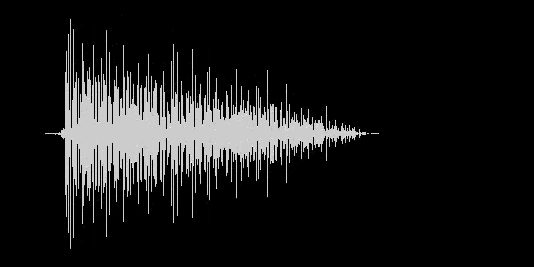 ゲーム(ファミコン風)爆発音_010の未再生の波形