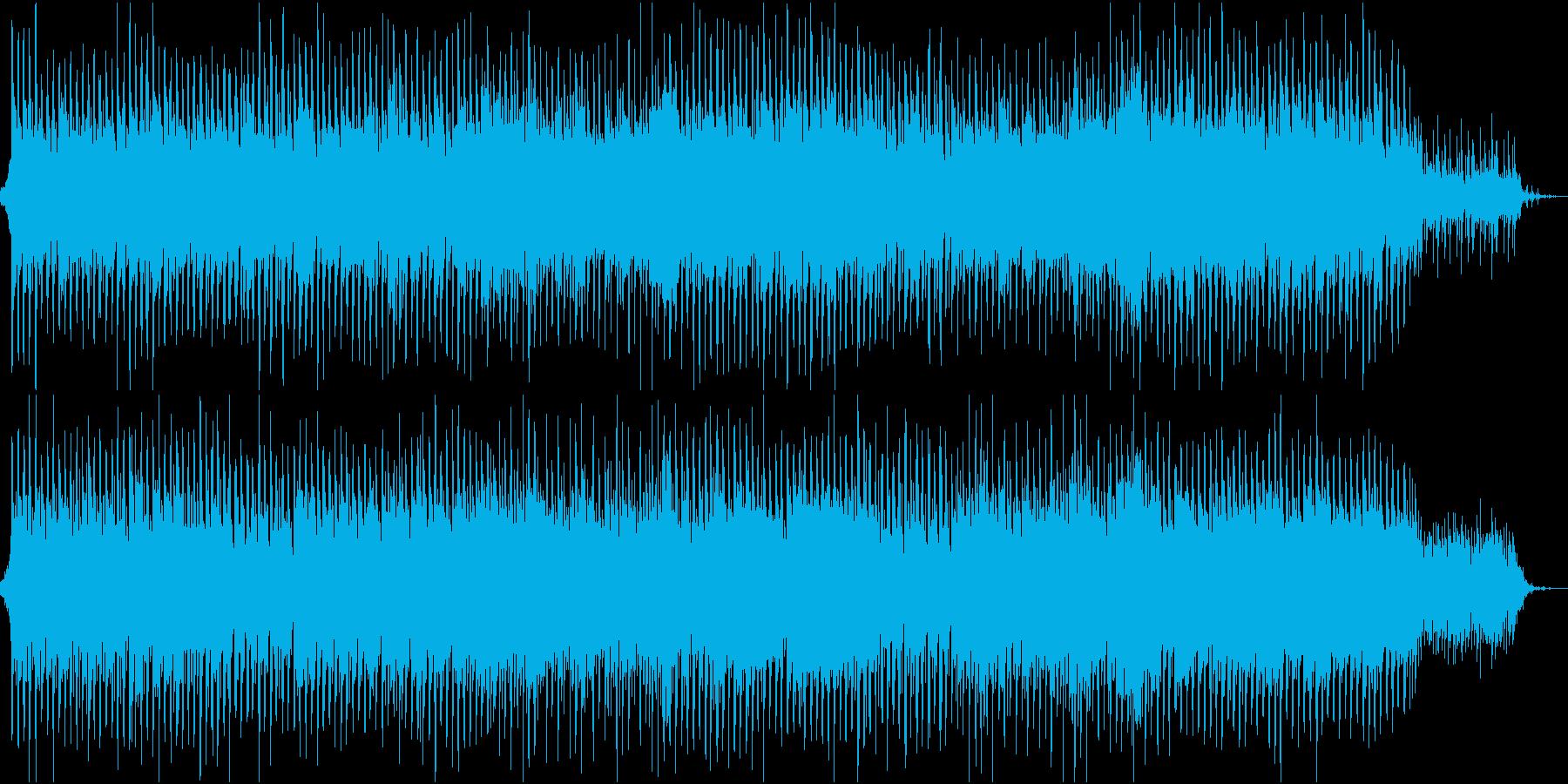 新商品紹介用アップビートPOPの再生済みの波形