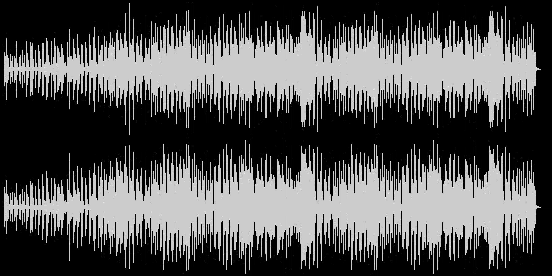 軽快なファンタジー音楽の未再生の波形