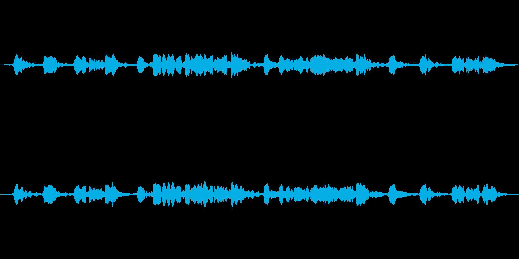 (「ほたるこい」)の再生済みの波形