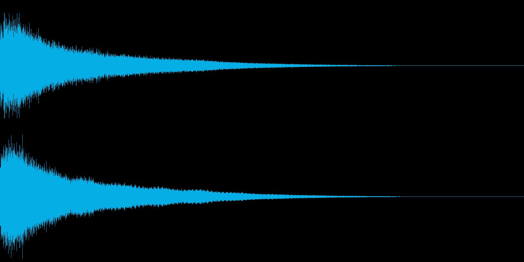 【チャイナシンバル ゴング】中国演出!2の再生済みの波形