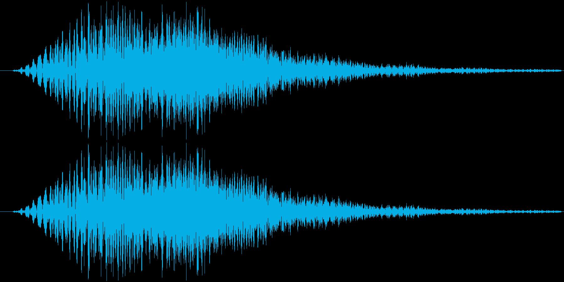 サウンドロゴ13の再生済みの波形
