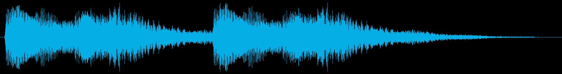 テロリラテロリラ(アラートに最適ピアノ)の再生済みの波形