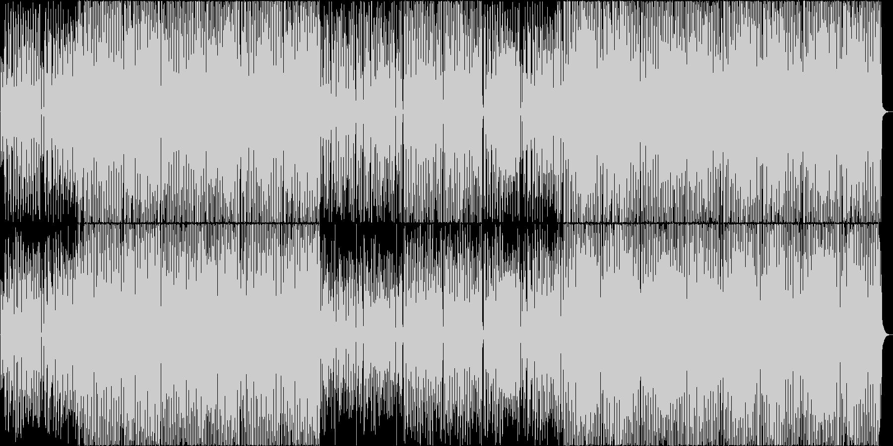 口笛、ウクレレ、縦笛のハッピーBGM♪の未再生の波形