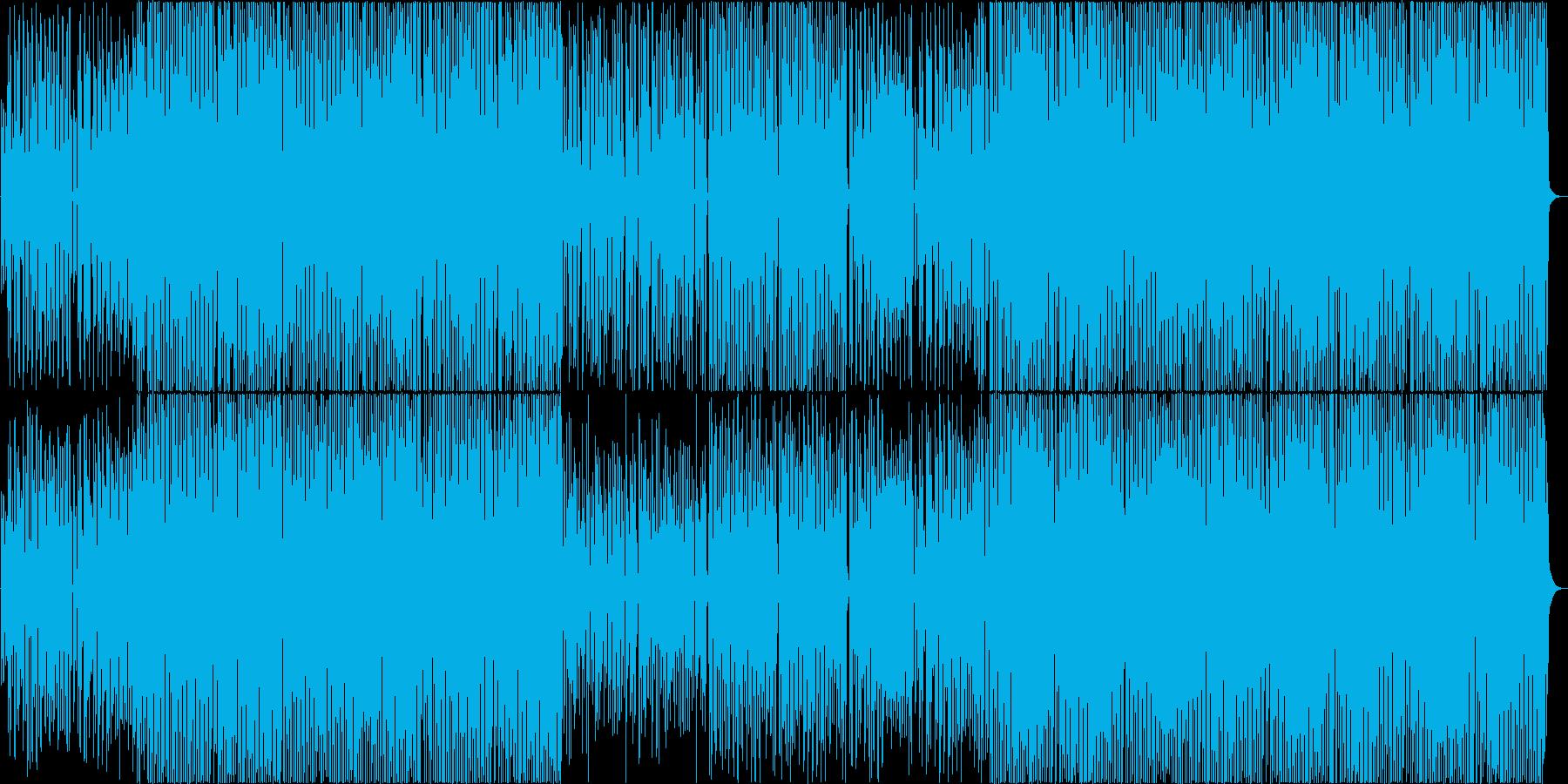 口笛、ウクレレ、縦笛のハッピーBGM♪の再生済みの波形