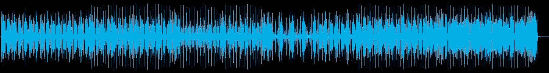 軽快で近代的なロックサウンドの再生済みの波形
