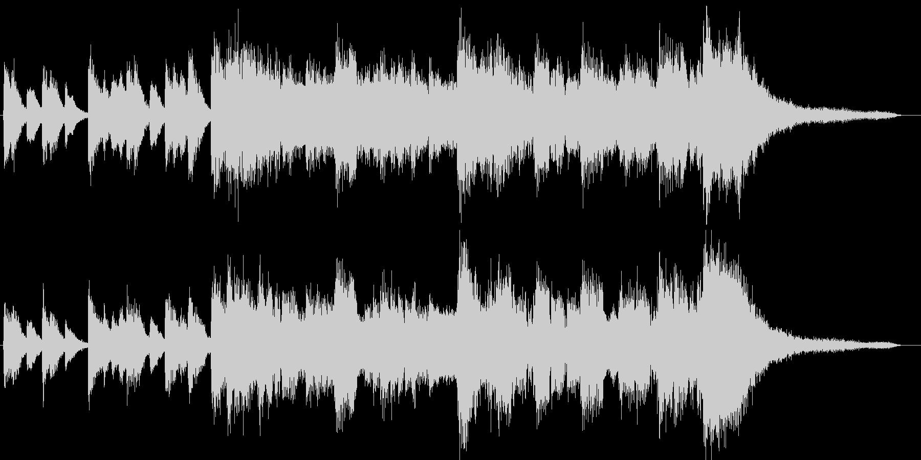 JAZZピアノサックスレトロ企業VPの未再生の波形
