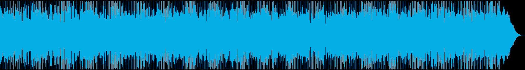 情熱的に奏でるポップ・ロックの再生済みの波形