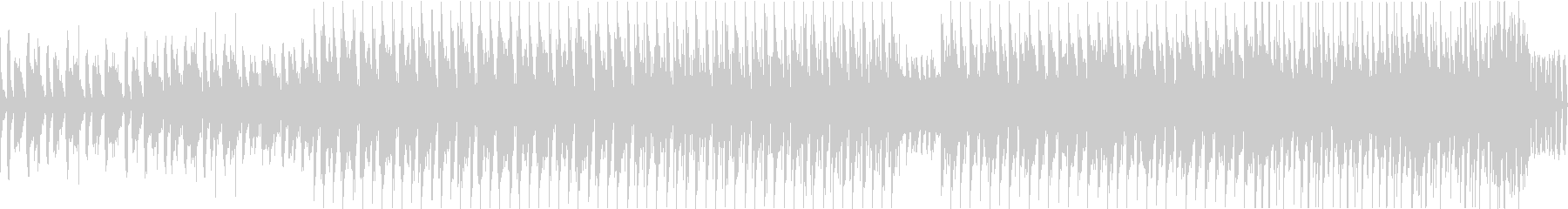 トロピカル EDM メジャー ループの未再生の波形